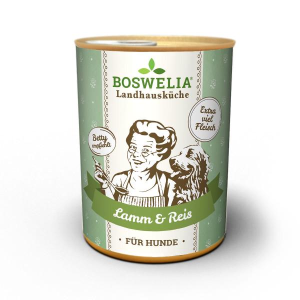Boswelia Landhausküche Hund - Lamm & Reis