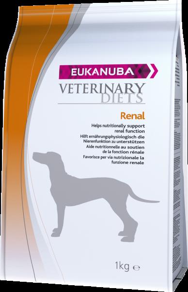 Eukanuba Veterinary Renal für Hunde 1kg