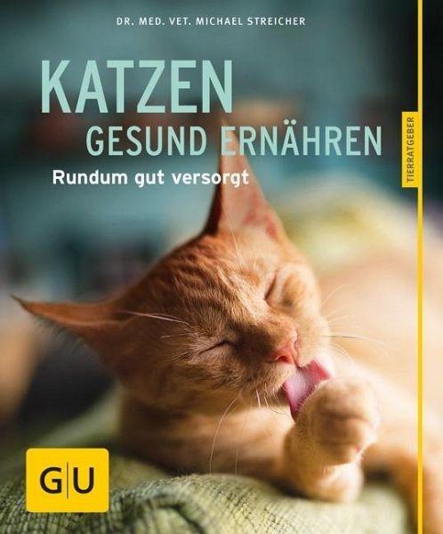 """Buch GU """"Katzen gesund ernähren"""""""