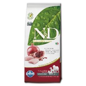 N&D Getreidefrei: Huhn/Granatapfel - Hund Canine Adult Medium